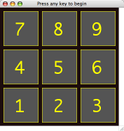 cbsimon numeric keypad layout screenshot