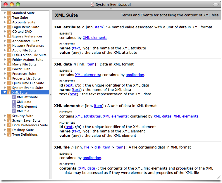 XML Parsing in AppleScript – anoved net
