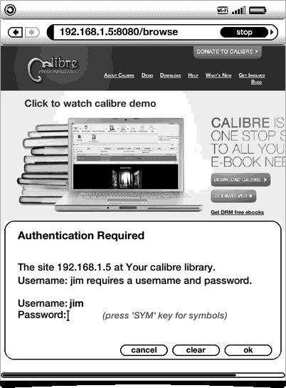 Calibre Content Server – anoved net