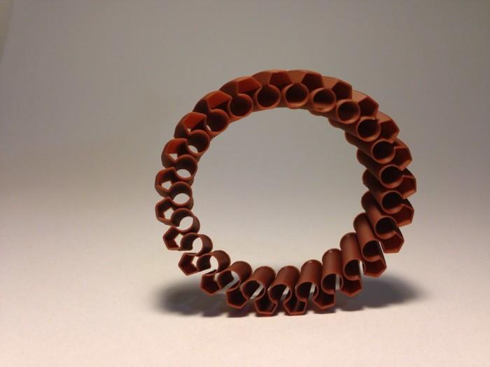 Ruffled Bracelet PLA