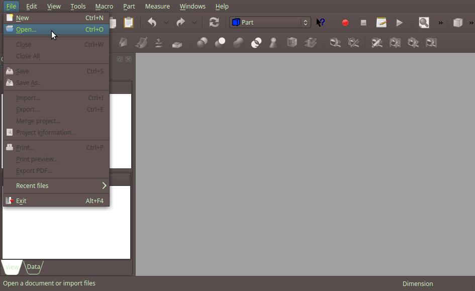 Import STL Models to Onshape Part Studios using FreeCAD