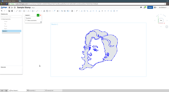 Screenshot-Sample Stamp - Onshape - Google Chrome-2