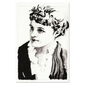 Portrait of Edith Wharton