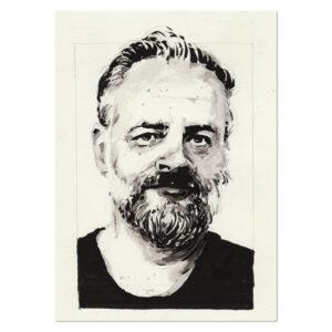 Portrait of Philip K. Dick
